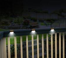 Solar Powered Deck Lights Deck Lights Ebay