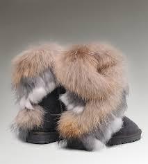 ugg sale near me ugg mini ii ugg fox fur boots 8288 grey popular ugg