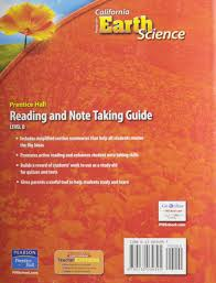 focus on earth science reading and note taking guide level b