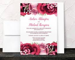 Reception Only Invitations Reception Only Etsy