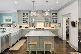 Benjamin Moore Gray Cabinets Grey Cabinets Contemporary Kitchen Benjamin Moore Fieldstone