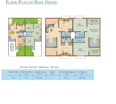 row house floor plan floor plans madhuban sai city pune residential property buy