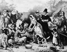 when was the thanksgiving and why did the pilgrims celebrate