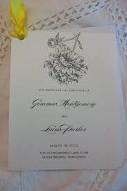 Printing Wedding Programs 14 Best Wedding Brochures And Programs And Printing Images On