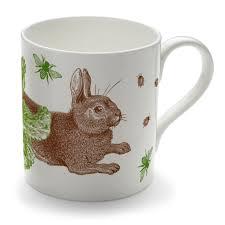 classic rabbit classic rabbit cabbage mug by thornback peel