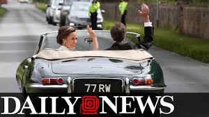pippa middleton marries at almost royal event video news ebl news