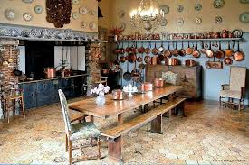 cuisine chateau charming bed and breakfast chateau de fleury la foret in fleury la