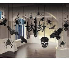 halloween party supplies glitter chandelier decorating kit spooky