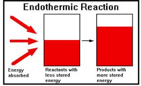 endothermic reaction diagram it also has exothermic reaction