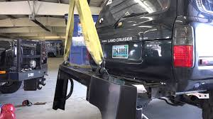 toyota land cruiser bumper toyota land cruiser vs siberia slee road rear bumper install