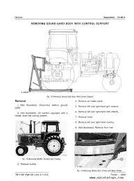 john deere 4440 tractor technical manual tm1182 pdf repair manual