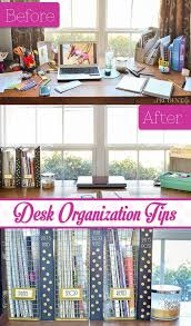 Office Desk Organization Tips Desk Organization Reveal Polished Habitat