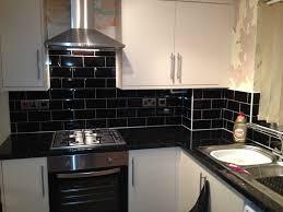 black kitchen tiles ideas kitchen black tiles oak search new kitchen
