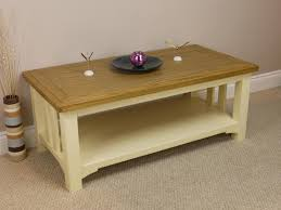Refinishing Coffee Table Ideas by Cream Painted Coffee Table Coffee Table Design Ideas