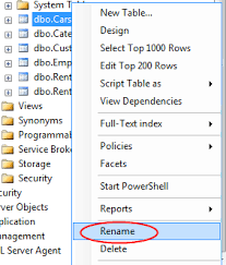 rename table name in sql how to rename database tables without breaking the mapping and