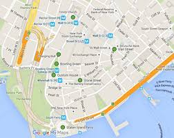 downtown manhattan map suggested 1 day nyc itinerary self guided tour with