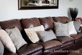 Leather And Tapestry Sofa Throw Pillows Leather S On Leather Sofa And Loveseat Set Faux W