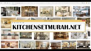 model kitchen set modern model kitchen set modern klasik kitchensetmurah net youtube