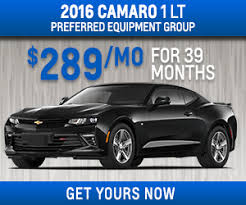 chevy camaro lease offers chevrolet lease specials in clarksville tn