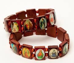 saints bracelet bracelets