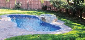 Deep Backyard Pool by Mediterranean Fiberglass Pool Aqua Med Pools 508 962 5159