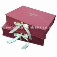 color high grade large gift boxes with lids flat pack gift box