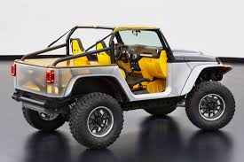 new jeep wrangler concept jeep and mopar reveal six new concept vehicles cartype