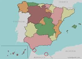 map of spain test your geography knowledge spain autonomies quiz lizard point
