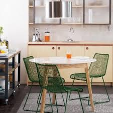 Kitchen Table Swivel Chairs by Furniture Awesome Mid Century Modern Kitchen Table With White