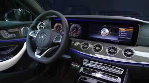 mercedes benz e class interior mercedes benz e class coupe e400 2018 on the road new cars release