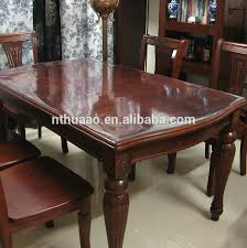 dining table cover clear dining table plastic sheet raw material for handicrafts hard plastic