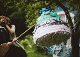 wedding cake pinata make an ombre wedding cake piñata etsy weddings