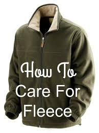 how to care for fleece to prevent and reduce pilling and matting