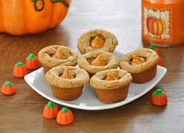 thanksgiving cups pumpkin spice cookie cups wishes and dishes