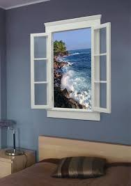 artificial windows for basement escape lcd virtual window from the sky factory
