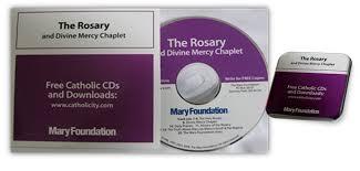rosary cd catholicshop the rosary mercy chaplet audio cd