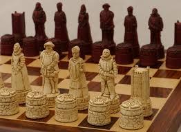 berkeley chess ltd english chess set ivory and red 0 1278