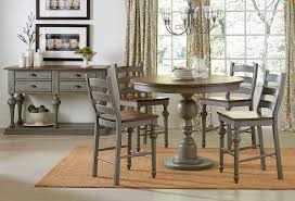 Tall Dining Room Sets by Colonnades Counter Height Dining Room Set Casual Dining Sets