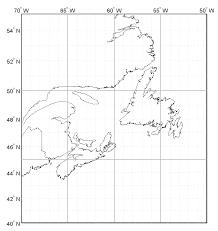 map of east canada novaweather