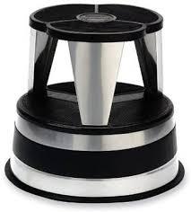 best little stoop free rolling kitchen step stool by kik step