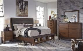 Zayley Bedroom Set Ashley Furniture Ralene Dark Brown Upholstered Storage Bedroom Set From Ashley