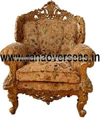 Wooden Single Sofa Chair Maharaja Chairs Maharaja Chairs Suppliers And Manufacturers At
