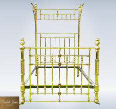 wrought iron queen headboard antique cast iron beds ebay white canopy half tester for napa