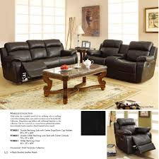homelegance marille double glider reclining loveseat w center