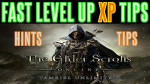 elder scrolls online fast xp level up tips hints guide all