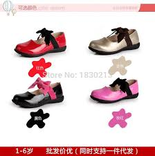 new flat heel sequins bow tie kids shoes fashion children