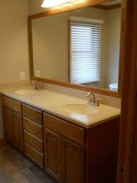 Bathroom Vanity With Mirror by Gary Ritchie Construction