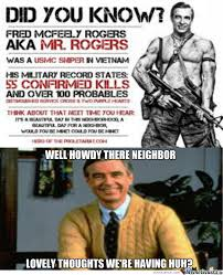 Mr Badass Meme - mr rogers is a badass by kelsopeachyo meme center
