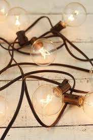 copper globe string lights string lights brown wire 9ft 10ct 12in spacing