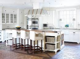 butcher block kitchen island breakfast bar remarkable kitchen brick kitchen floor cottage emily followill